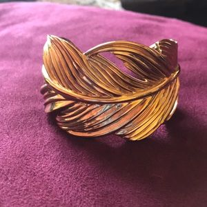 Stella and Dot Feather Cuff